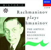 Sergei Rachmaninoff - Rachmaninov Plays Rachmaninov (The Ampico Piano Recordings)  artwork