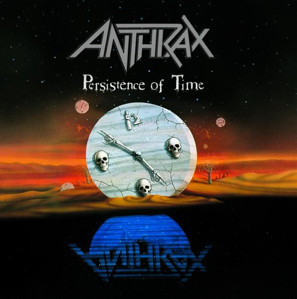 Persistence of Time by Anthrax Album Art