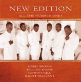 New Edition - All the Number Ones  artwork