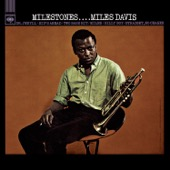 Miles Davis - Milestones  artwork