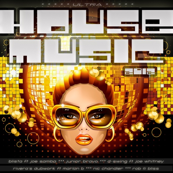 Ultra House Music 2012 Album Cover By Various Artists