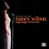 Nancy Wilson - Guess Who I Saw Today: Nancy Wilson Sings Songs of Lost Love  artwork