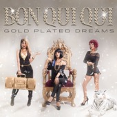 Cover to Bon Qui Qui's Gold Plated Dreams