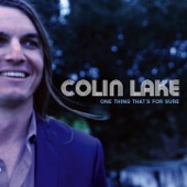 Colin Lake - One Thing That's For Sure  artwork