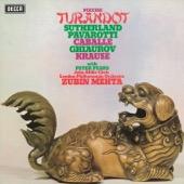 Luciano Pavarotti, London Philharmonic Orchestra, Zubin Mehta, Dame Joan Sutherland, Montserrat Caballé, Nicolai Ghiaurov & John Alldis Choir - Puccini: Turandot  artwork