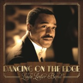 The Louis Lester Band - Dancing On the Edge  artwork