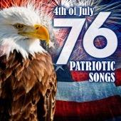 Various Artists - 76 Patriotic Songs: 4th of July & Memorial Day  artwork