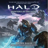 Peter David - HALO: Hunters in the Dark (Unabridged)  artwork