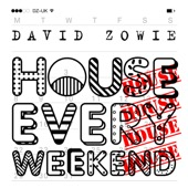 David Zowie - House Every Weekend (Radio Edit) artwork