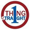 One Thing Straight