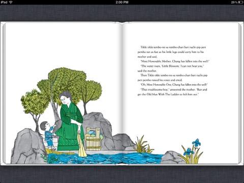 Itunes books tikki tikki tembo by arlene mosel blair for Tikki tikki tembo coloring pages