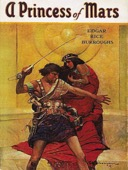 Edgar Rice Burroughs - A Princess of Mars  artwork