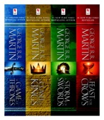 George R. R. Martin - A Game of Thrones 4-Book Bundle artwork