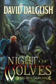 David Dalglish - Night of Wolves (The Paladins #1)  artwork