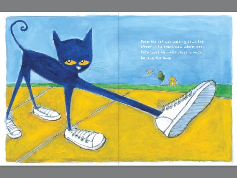 itunes books pete the cat i my white shoes by