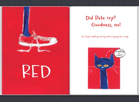 Pete the Cat: I Love My White Shoes Flannel Felt by DMCraftDesigns