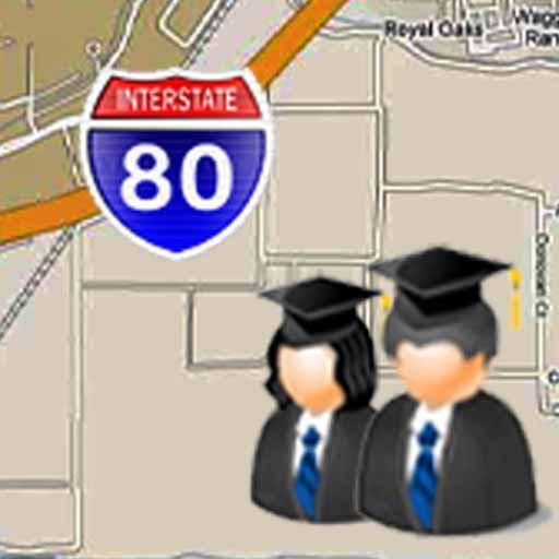 Biola University Map