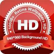 Retina Wallpapers HD & Background HD for iphone 640x960 手机<font color=