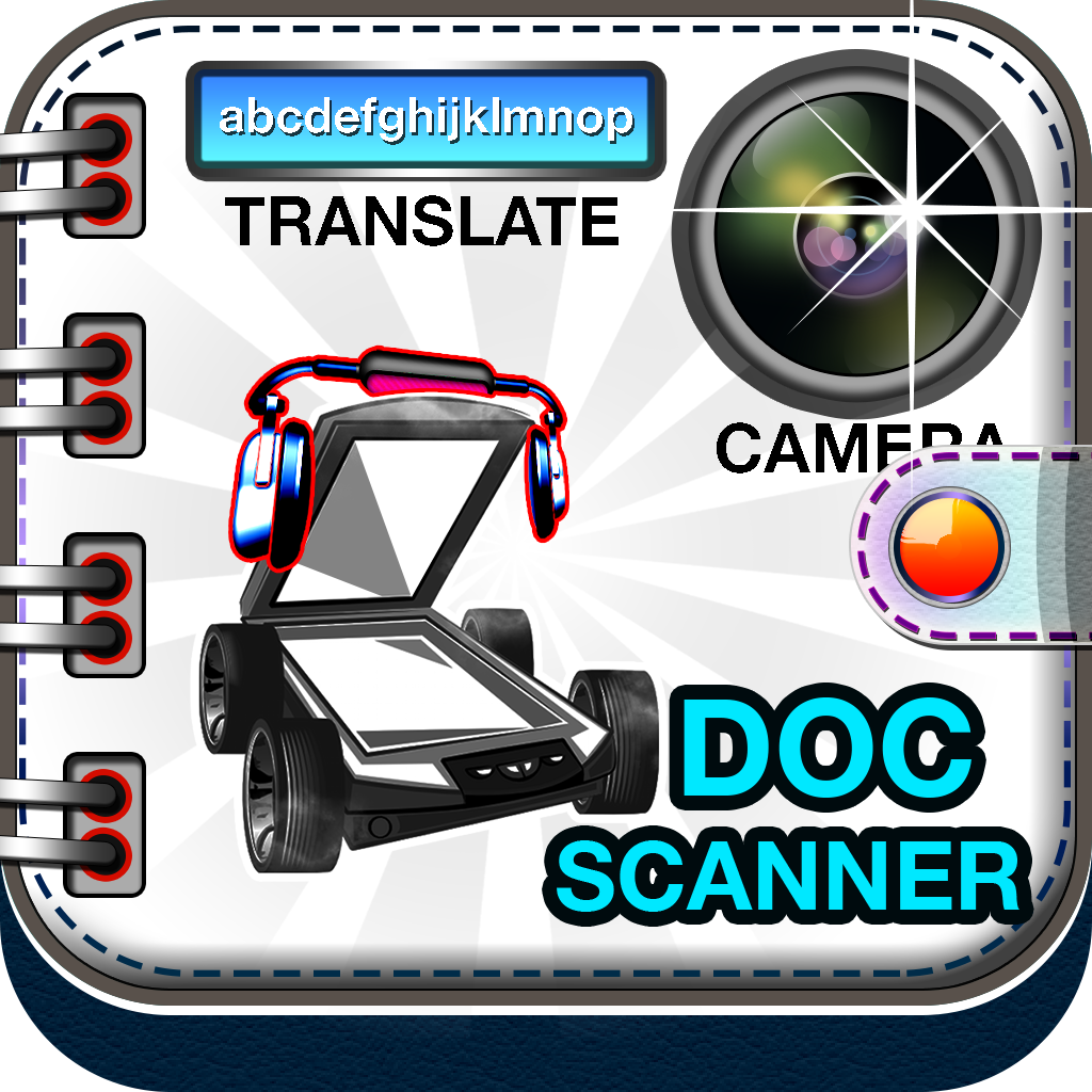 Scanner Pro-OCR, Doc Scanner, Text to Speech and Translator