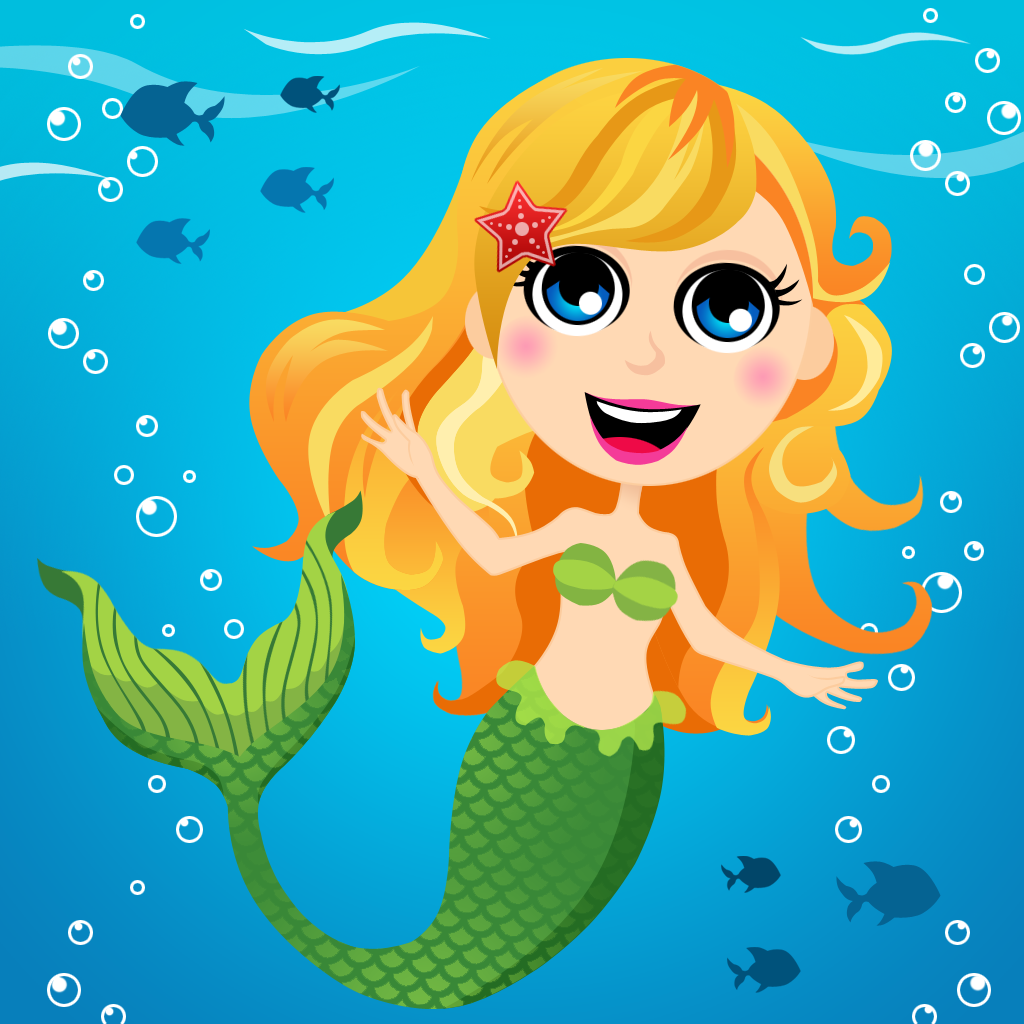 Cartoon Mermaids For K...