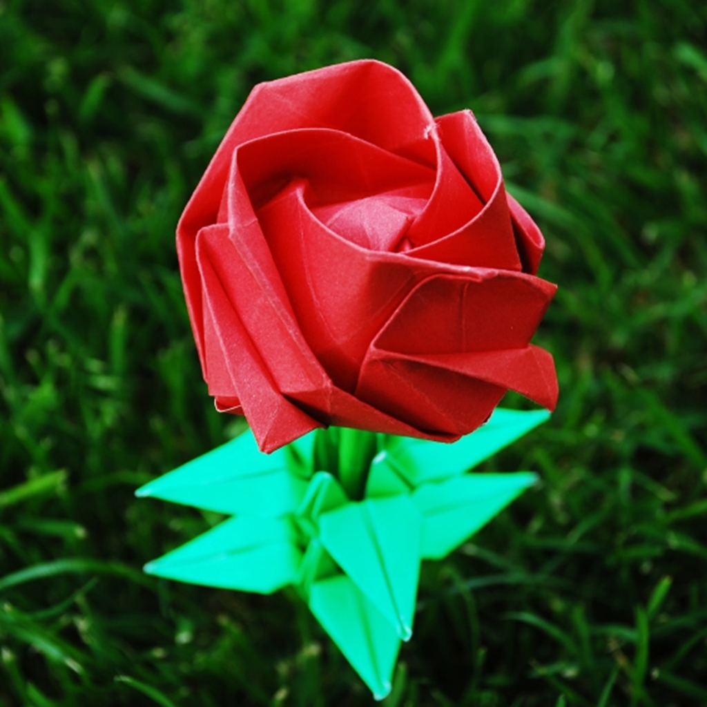 How to Make Origami Rose By Baoyin Chen - photo#25