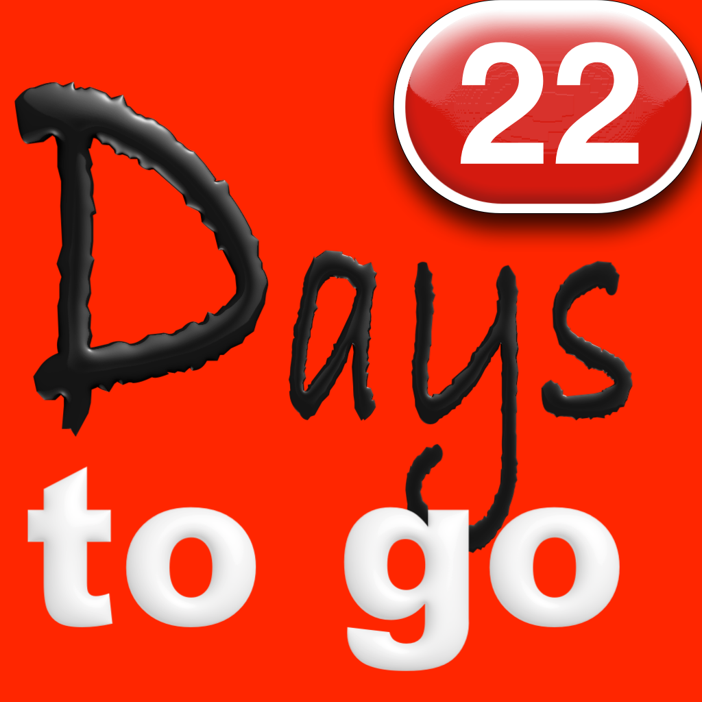 Days To Go Wdw App Review Count Down The Days To Your