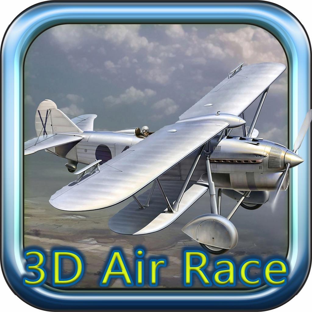 3D Air Racing Island Adventure