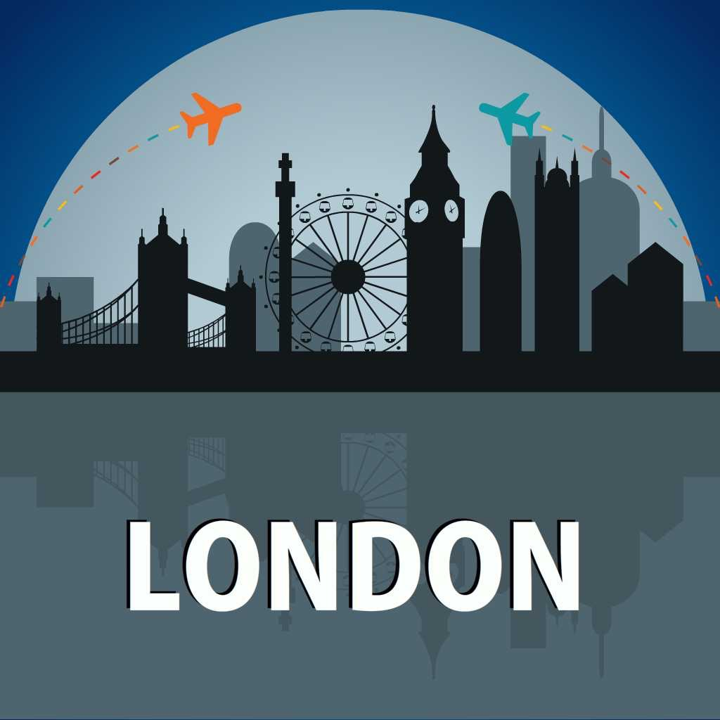 London Travel Guide - Offline Map