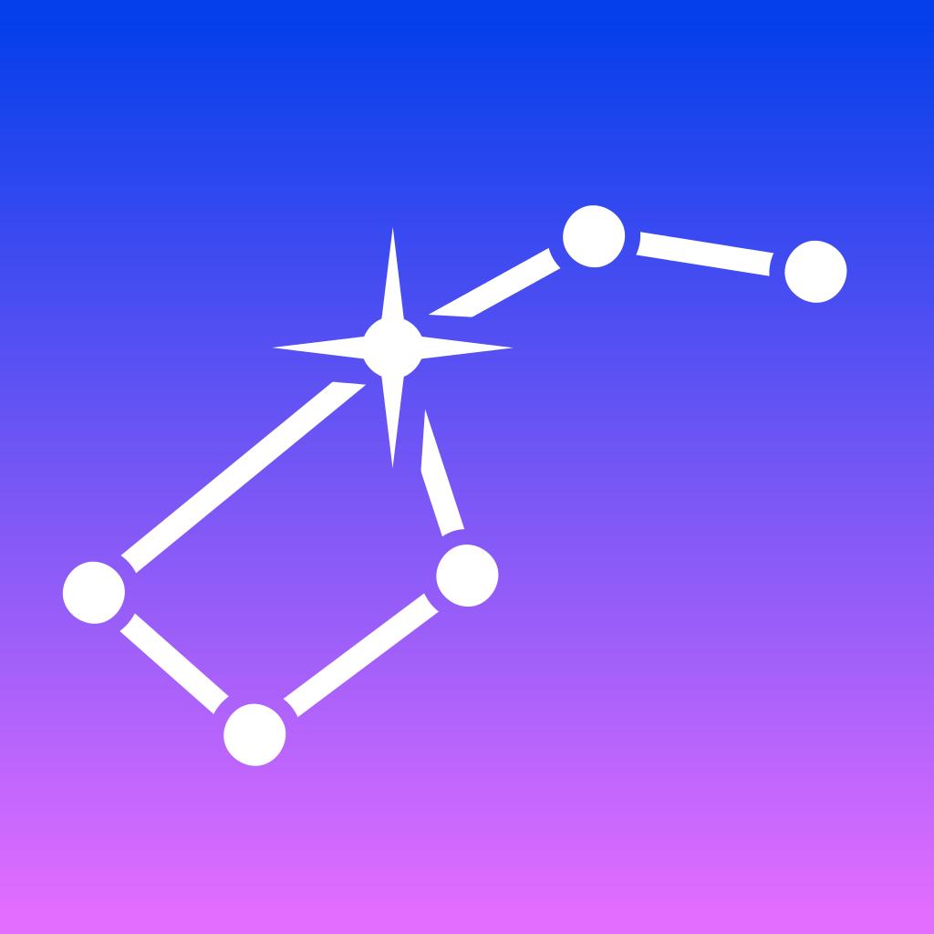 Star Walk for iPad - 5つ星の天体観測ガイド 夜空マップ惑星