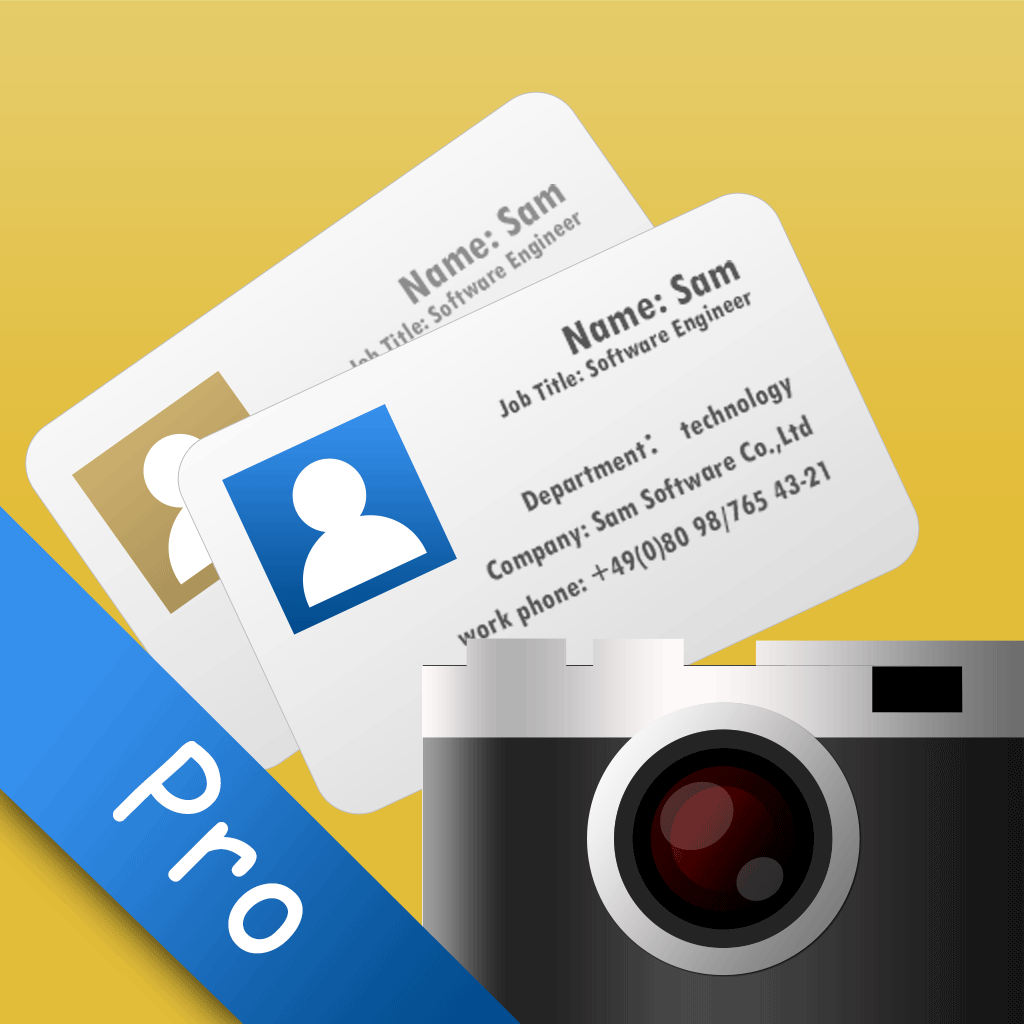SamCard Pro iPhone App App Store Apps