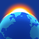 Living Earth - Clock & Weather app for ipad