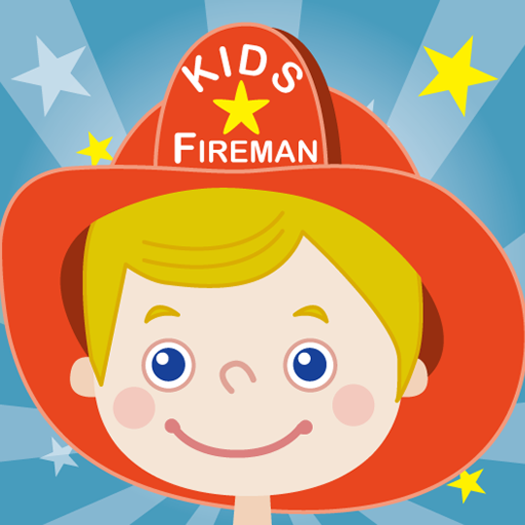 Kids Fireman - Ducky Lucky Studio, LLC