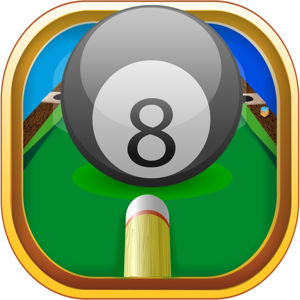 8 Ball Game - Billiards Practice