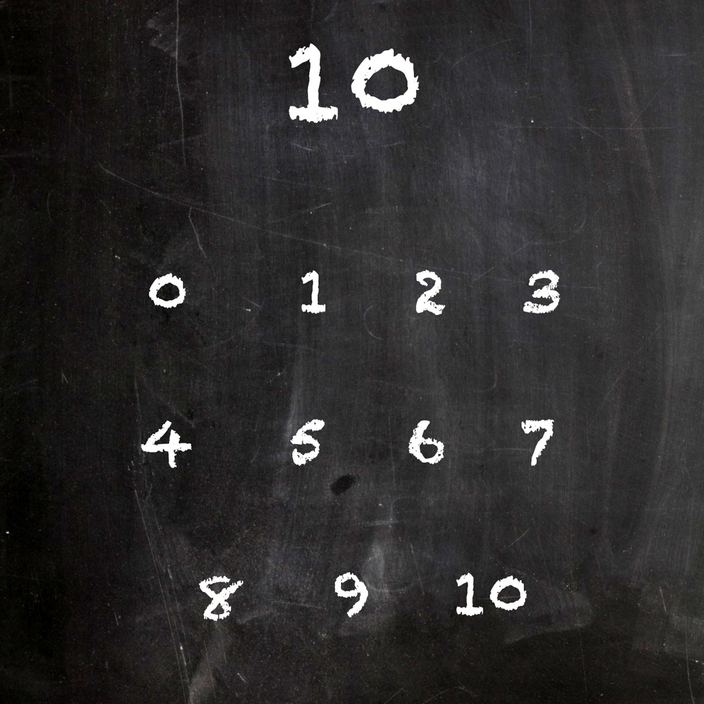 Number Bonds Chalkboard