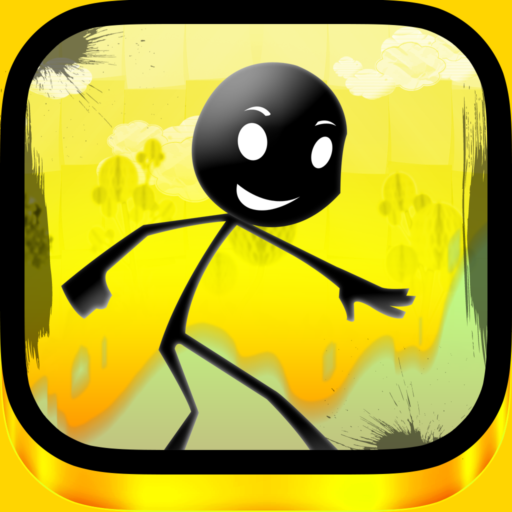 Ace Stickman Jump and Run Game