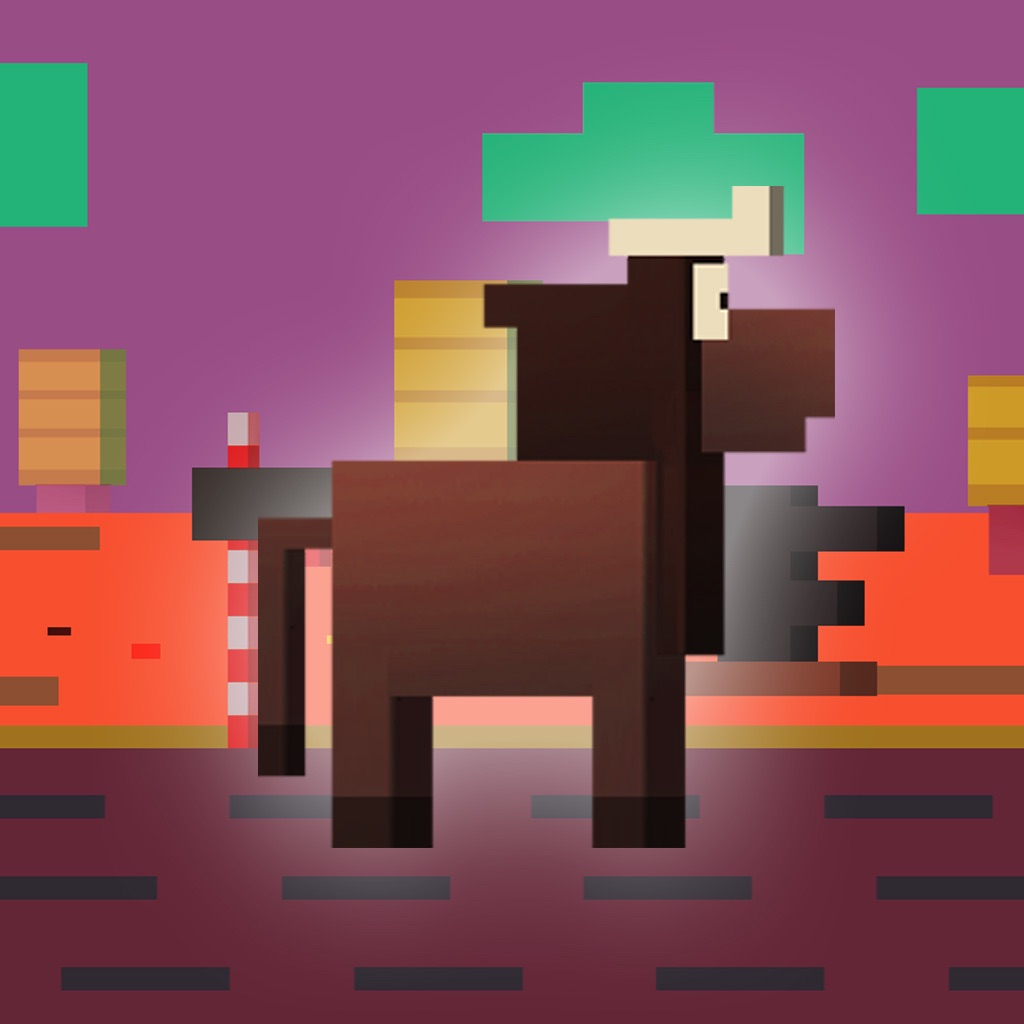Brown Cow Road - Crossing Arcade Endless Hopper