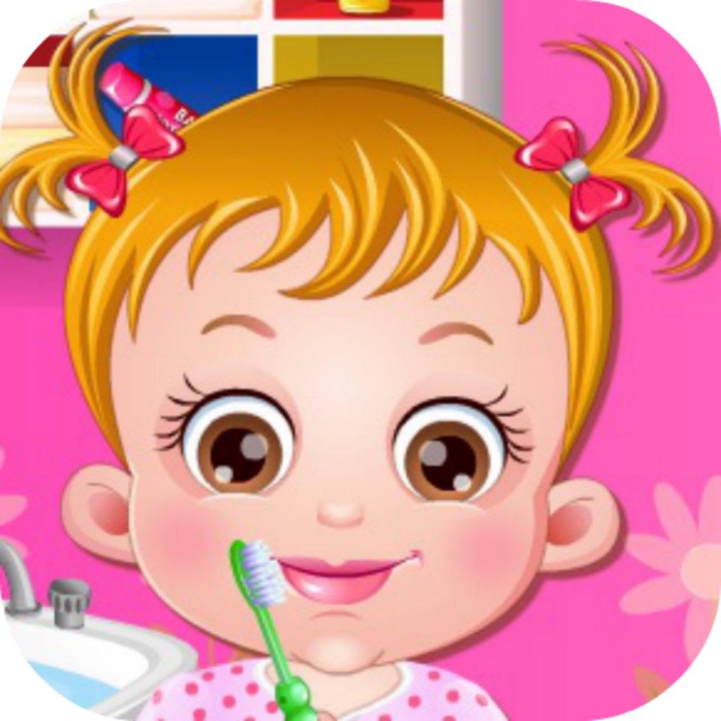 可爱宝贝刷刷牙 通过 nianchun