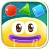 Jelly 8 : learning shape number color game for kids