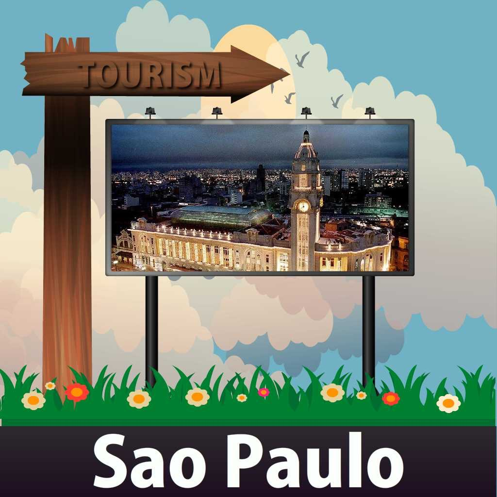 Sao Paulo Travel Guide - Offline Map