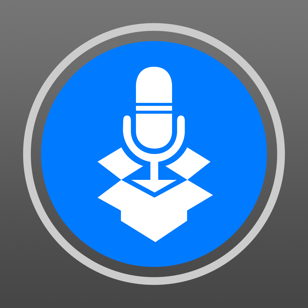 DropVox - Record Voice Memos to Dropbox - Irradiated Software...