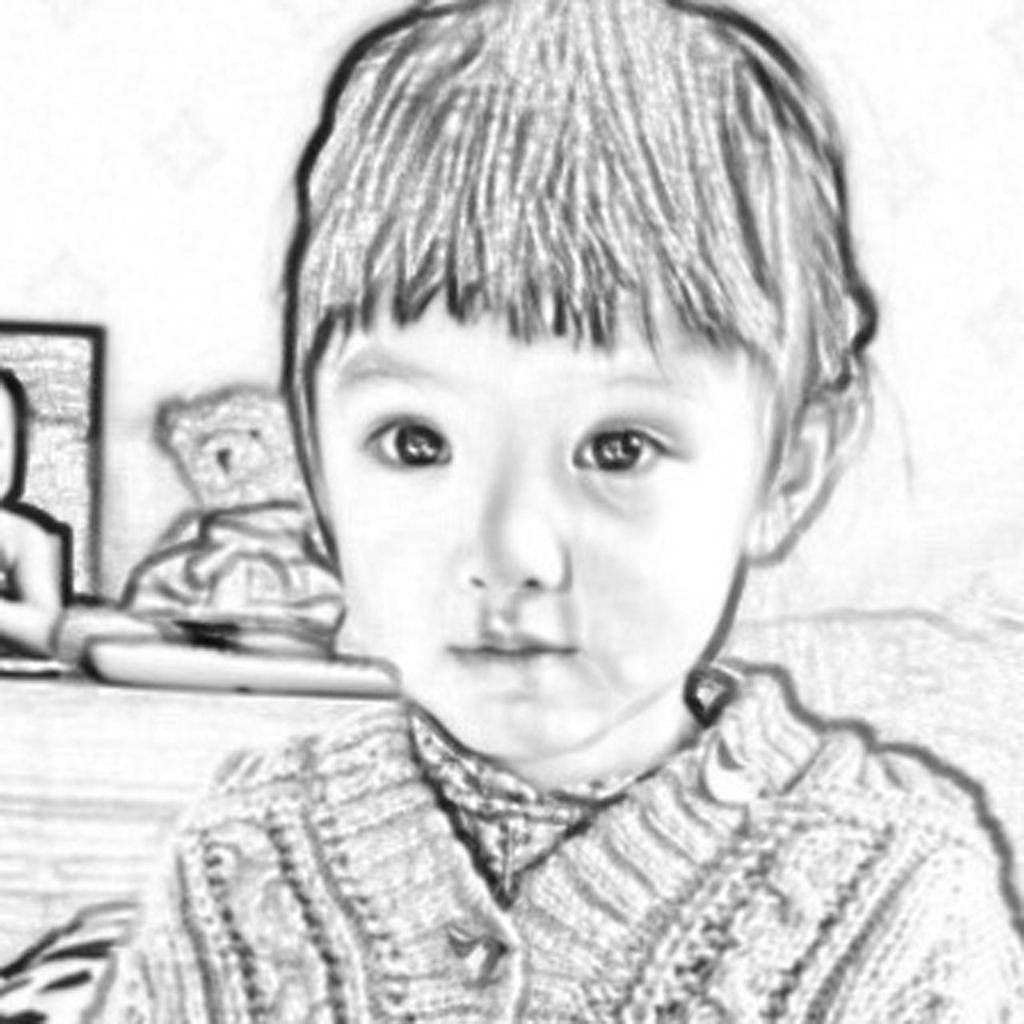 Photo sketch pro pencil avatar filter draw editor color face effects