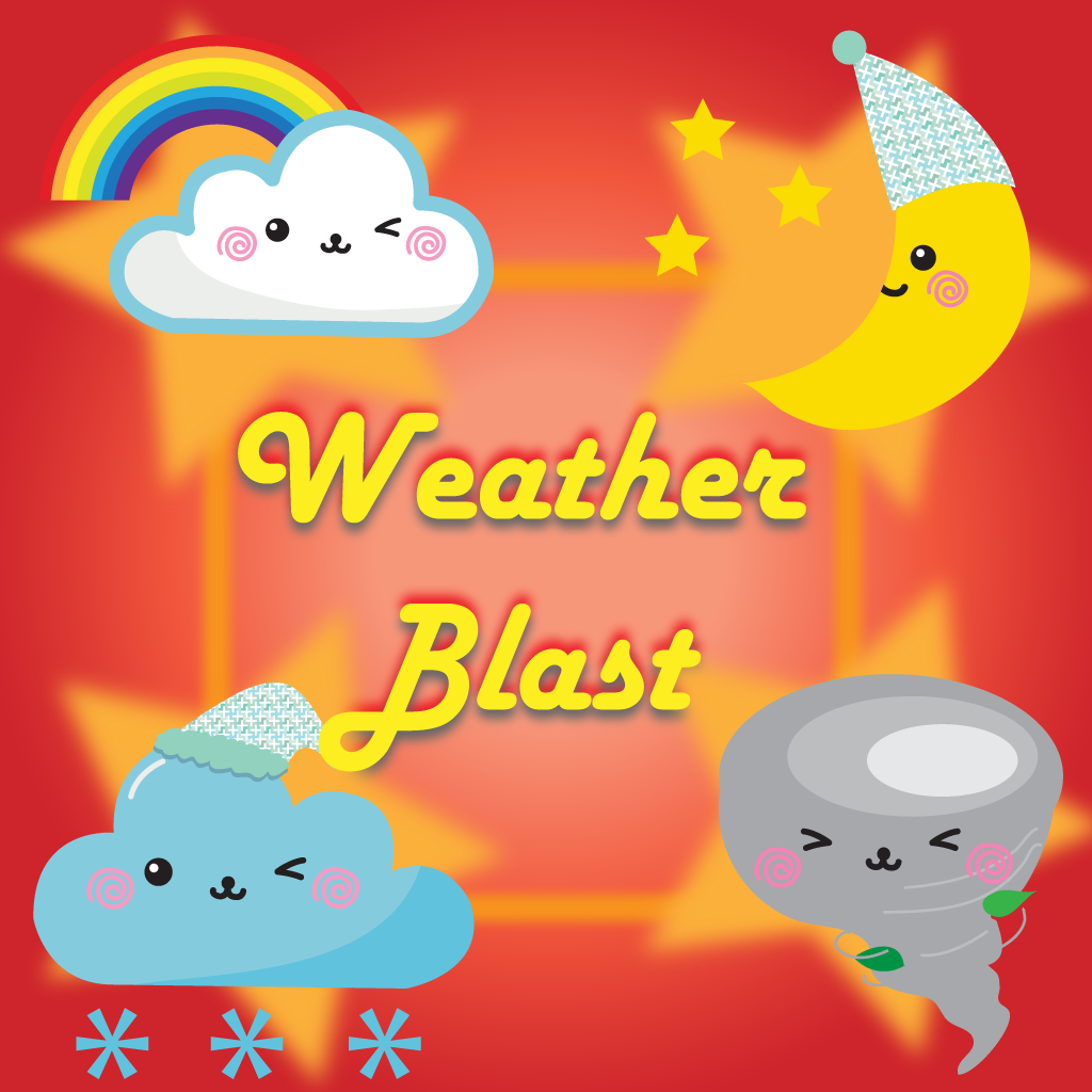 An After light of  Weather Blaze Blast - Swipe and match emotion of clouds to win the puzzle games free