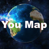 You Map - all in one - GPS/Navigation/Maps/Speedmeter/Coordinates/Address/Altitude