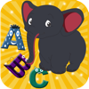 Tap and learn ABC, Preschool kids game to learn alphabets, phonics with animation and sound available in English, French
