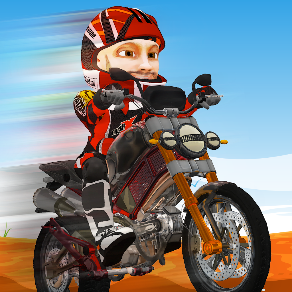 Dirt Bike Offroad Stunts: Mad Motocross Trackin Pro