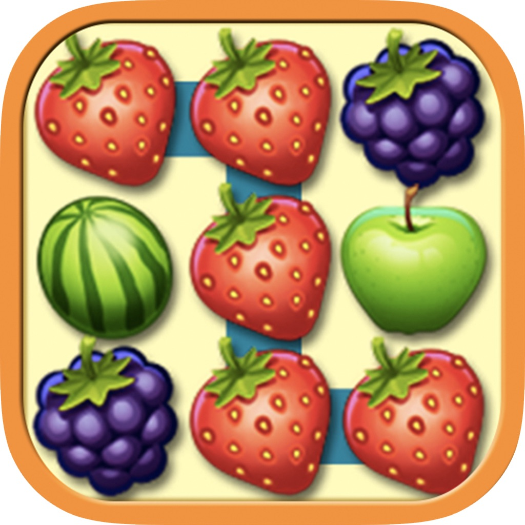 Fruit link mania - App Icon Fruit Link Deluxe