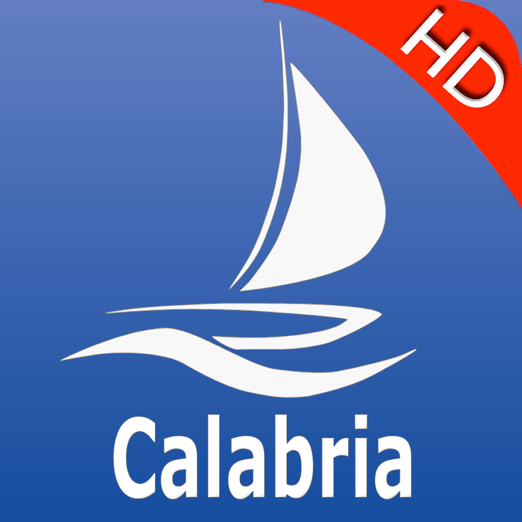 Calabria GPS Nautical charts pro