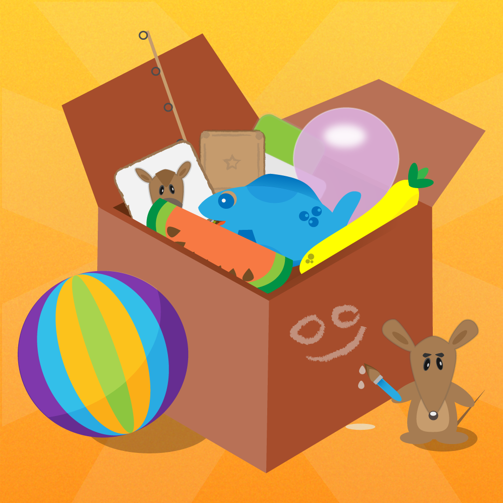 Tiny Play Box Hd - fun educational activities for toddlers and preschool kids.