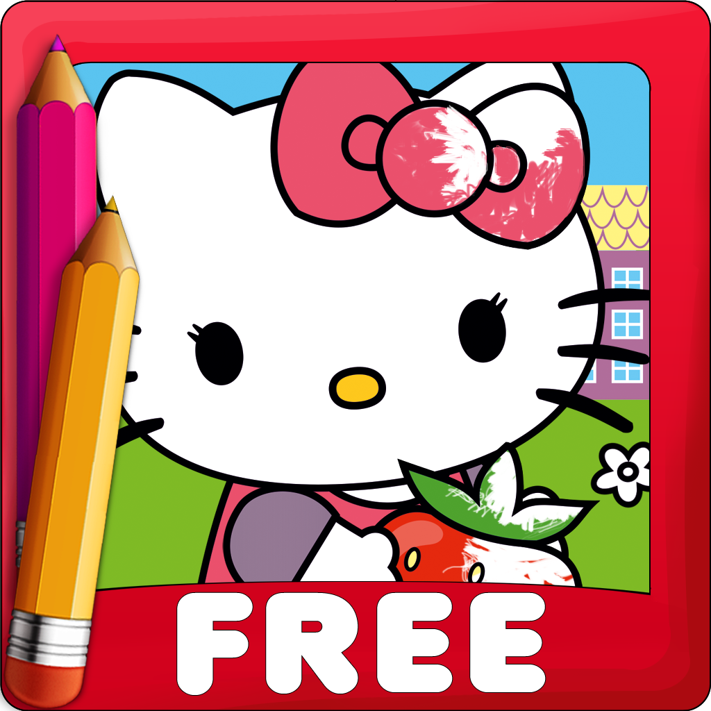 Coloring Book Hello Kitty Edition By Gulenko Andrey