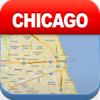 芝加哥离线地图 - 城市 地铁 机场